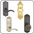 Door Hardware - Decorative Door Handle Plates