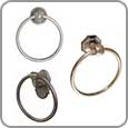 Bathroom Hardware - Towel Rings