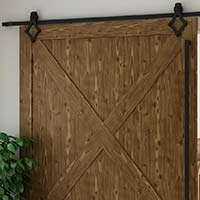 Diamond Barn Door Track Delaney 6000 Series