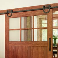 Horseshoe Barn Door Track Delaney 2000 Series