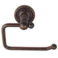 Emtek Brass Bar Toilet Paper Holder in Oil Rubbed Bronze