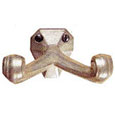 Emtek Tuscany Bronze Double Robe Hook in Silver Patina