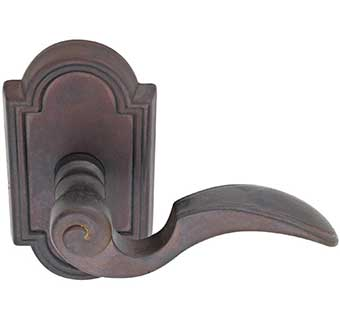 Emtek Napoli Style Bronze Lever Door Handle