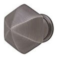 Emtek Brass Hexagon Cabinet Knob in Oil Rubbed Bronze