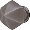 Emtek Hexagon Brass Cabinet Knob in Oil Rubbed Bronze