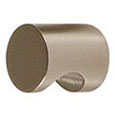 Emtek Brass Cabinet Finger Pull in Satin Nickel