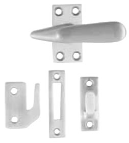 Emtek Large Casement Latch in Satin Nickel