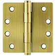 "Emtek Brass Heavy-Duty 1/4""-Radius Hinges in French Antique"