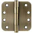 "Emtek Brass Heavy-Duty 5/8""-Radius Hinges in Pewter"